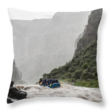 Gorge Squall Throw Pillow