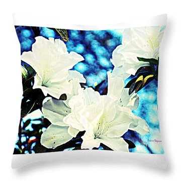 Gorgeous Throw Pillow by Leanne Seymour