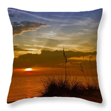 Gorgeous Sunset Throw Pillow by Melanie Viola