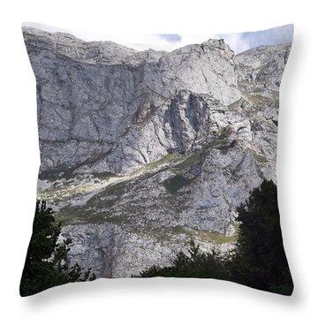 Gorgeous View Of The Picos De Europa Throw Pillow