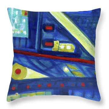Gorias In The East Throw Pillow by Stephen Lucas
