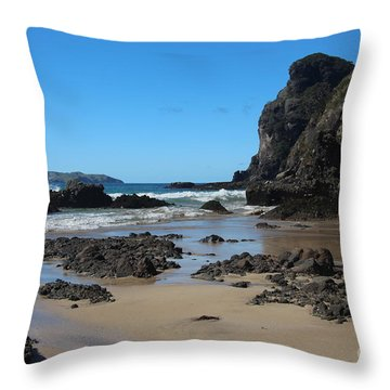 Gorilla Rock Cove Throw Pillow