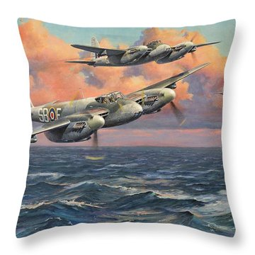 Goring's Envy Throw Pillow by Colin Parker