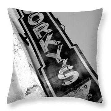 Gorky's Cafe Throw Pillow