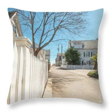 Gosnold St. Provincetown Throw Pillow