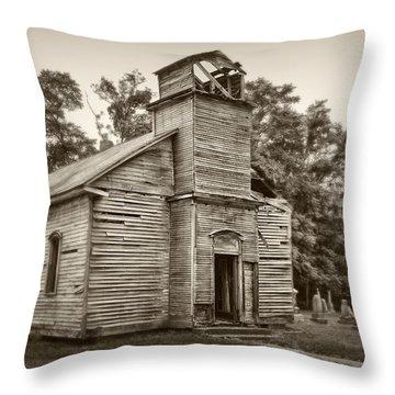 Gospel Center Church Iv Throw Pillow