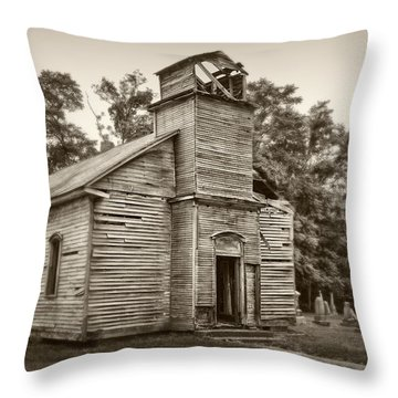 Gospel Center Church Iv Throw Pillow