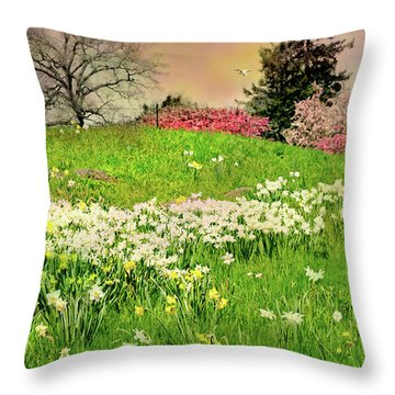 Throw Pillow featuring the photograph Got A Thing For You by Diana Angstadt