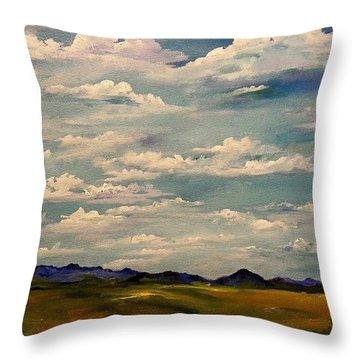 Got Clouds Throw Pillow