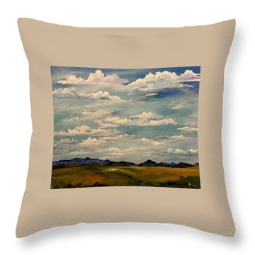 Got Clouds Throw Pillow
