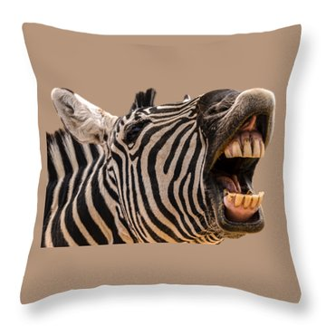 Got Dental? Throw Pillow by Mark Myhaver