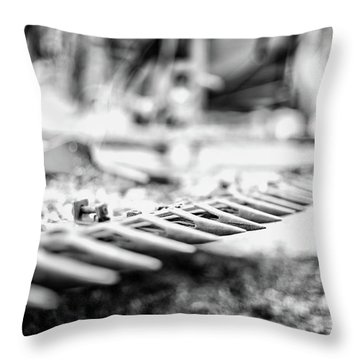 Got Teeth? Throw Pillow