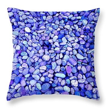 Got  The  Blues Throw Pillow by MaryLee Parker