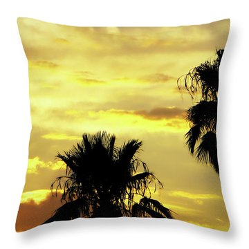 Got To Love Monsoons Throw Pillow