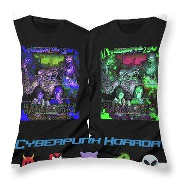Cyberpunk Throw Pillows