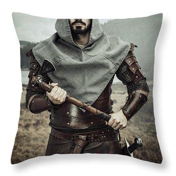 Got Warrior Throw Pillow