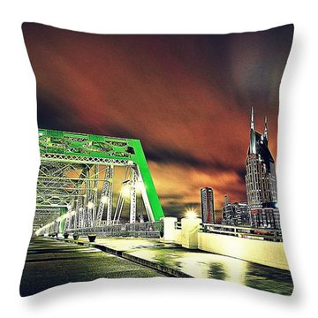 Gotham Calling Throw Pillow by Matt Helm