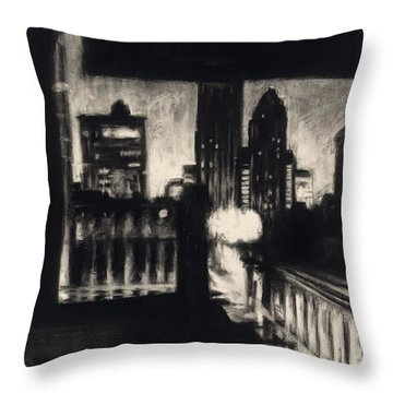 Gotham II Throw Pillow