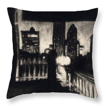 Gotham II Throw Pillow