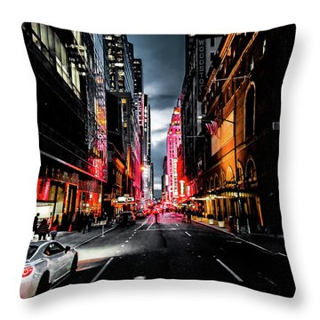 Throw Pillow featuring the photograph Gotham  by Nicklas Gustafsson