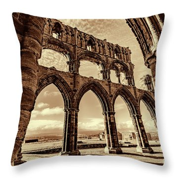 Throw Pillow featuring the photograph Gothic Dreams by Anthony Baatz