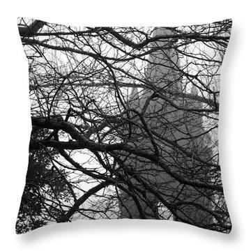 Gothic Throw Pillow by Gaspar Avila