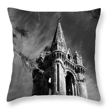 Gothic Style Throw Pillow by Gaspar Avila