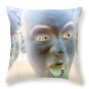 Gouls And Gobblins Throw Pillow