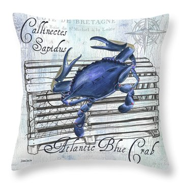 Gourmet Shellfish 1 Throw Pillow
