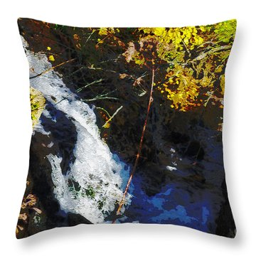 Governor Dodge State Park Throw Pillow