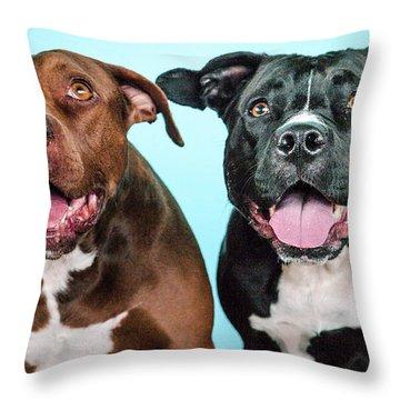 Gozerandmetta Throw Pillow