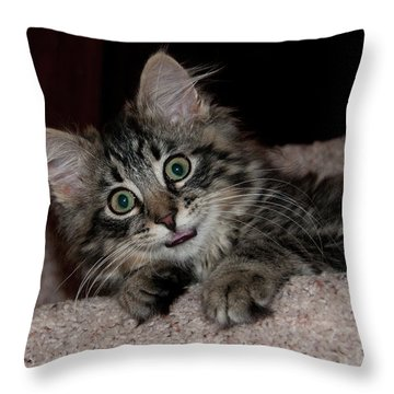 Grace 1088 Throw Pillow by Guy Whiteley