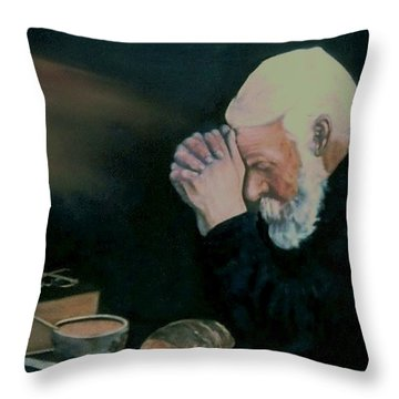 Grace After Enstrom Throw Pillow