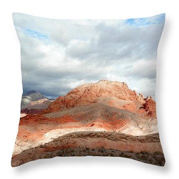 Grace And Goodness Throw Pillow