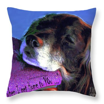 Grace At Home Throw Pillow