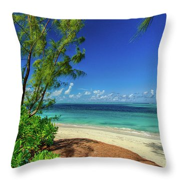 Grace Bay Throw Pillow