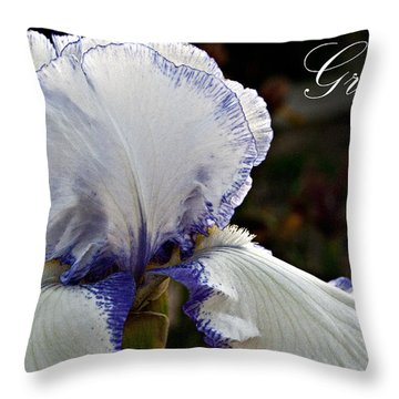Grace Throw Pillow by Christopher Gaston