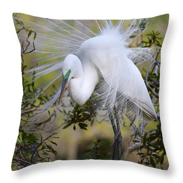 Grace In Nature Throw Pillow