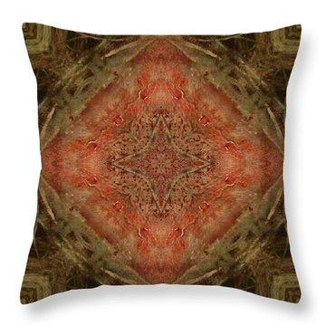 Grace Mandala Throw Pillow