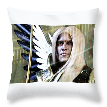 Grace Of Light Throw Pillow
