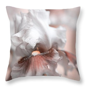 Throw Pillow featuring the photograph Graceful Dream by Jenny Rainbow