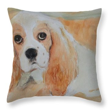 Gracie 2 Throw Pillow