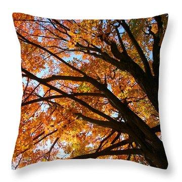 Gracious Presence Throw Pillow