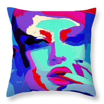 Throw Pillow featuring the digital art Graduated With Flying Colors by Rafael Salazar
