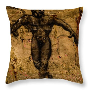 Graffiti_15 Throw Pillow