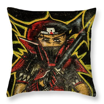Graffiti_16 Throw Pillow