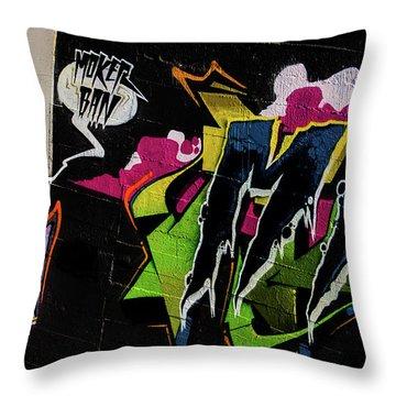 Graffiti_19 Throw Pillow