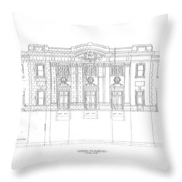 Grafton Station Throw Pillow