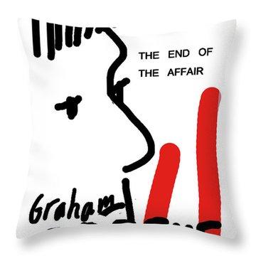 Graham Greene End Of Affair  Throw Pillow