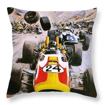 Graham Hill Throw Pillow